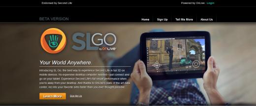 The SL Go website