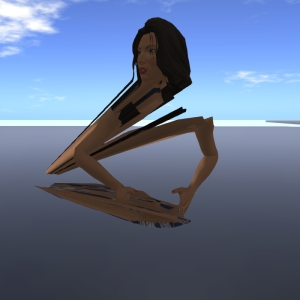 This is how the new fitted mesh avatars are rendered with SL Go. Quite disappointing, I must say.