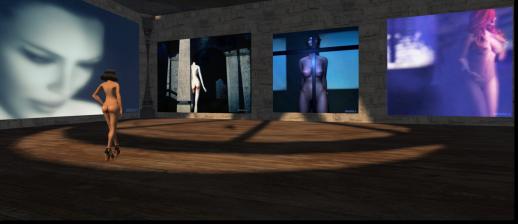 Amona Savira's art at the Naked Gallery in Naked.