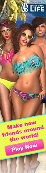 "The much-criticised ""bikini babes"" ad."