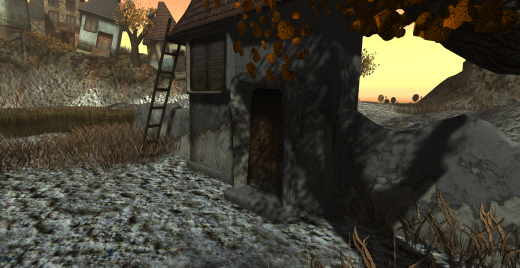 "Cica Ghost's ""Little Village"" exhibit from March 2014. Another sample of in-world art that never made it to mainstream media coverage of Second Life."