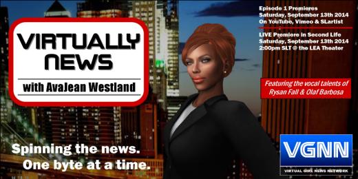 Virtually News Poster