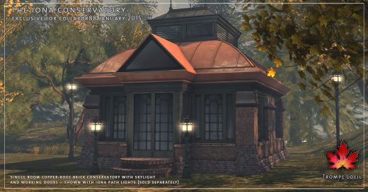 Trompe Loeil's beautiful Iona Conservatory build. Image credit: Trompe Loeil