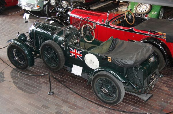 An RL specimen of the 4.5-litre Blower Bentley. The different wheels are quite obvious.