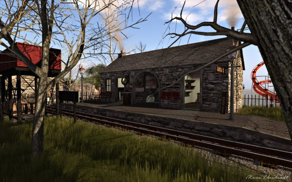 The Little Coverston Station