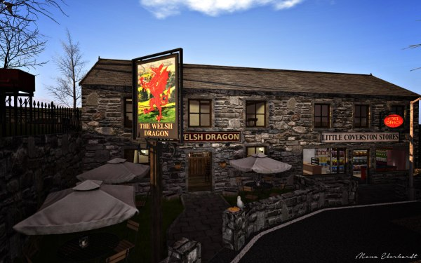 The Welsh Dragon Pub at Little Coverston.