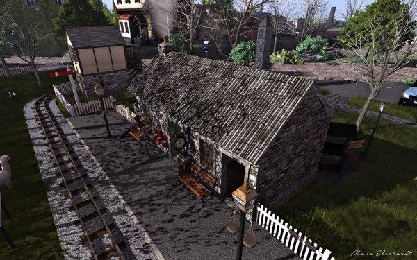 The Somdari station.