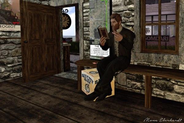 Beardy Bernard at the Somdari Station.