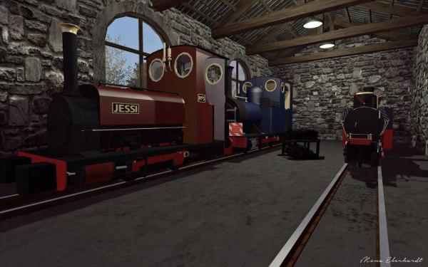 The depot at Somdari.