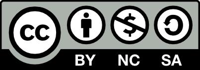 CC-BY-NC-SA Licence Logo