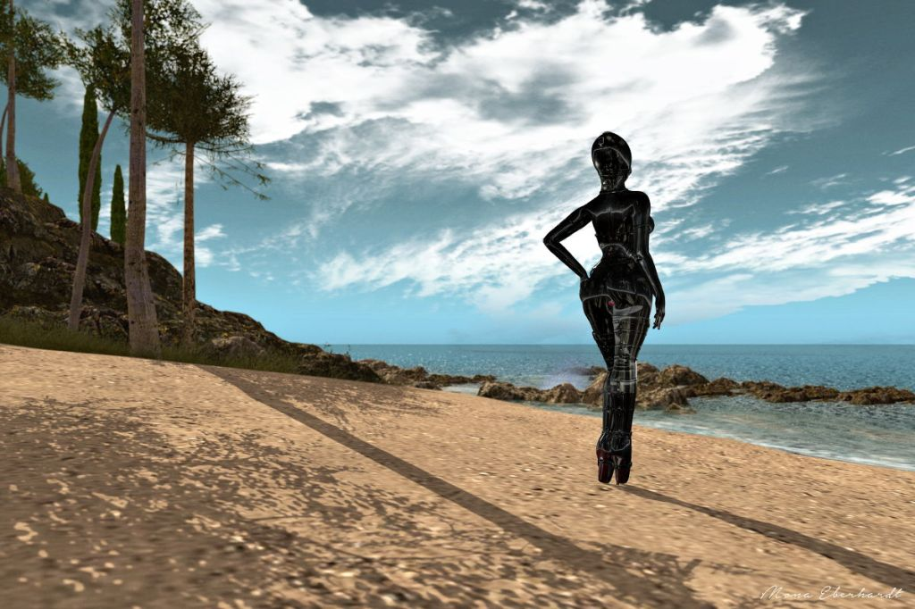 On the beach of Nefeli Island