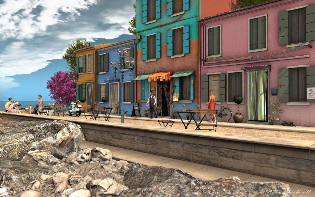The Main Street at Nefeli