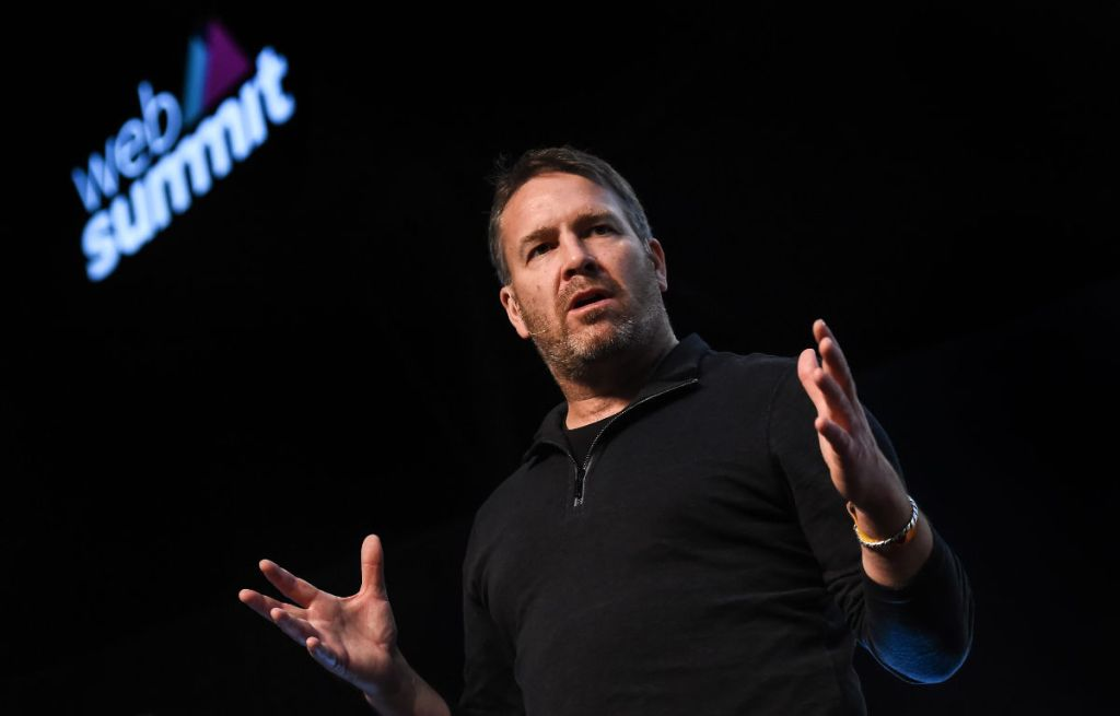 The late Ebbe Altberg at the 2015 Web Summit